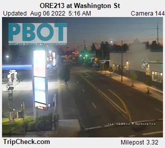 RoadCam - ORE213 at Washington St