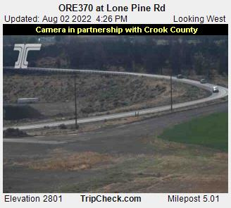 RoadCam - ORE370 at Lone Pine - West
