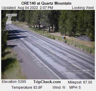 Hwy 140 Quartz Mountain