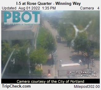 RoadCam - I-5 at Rose Quarter - Winning Way