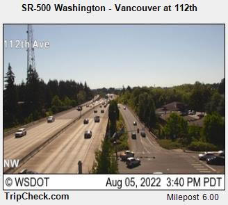 RoadCam - SR-500 Washington - Vancouver at 112th