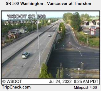 RoadCam - SR-500 Washington - Vancouver at Thurston