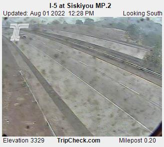 RoadCam - I-5 at Siskiyou MP.2
