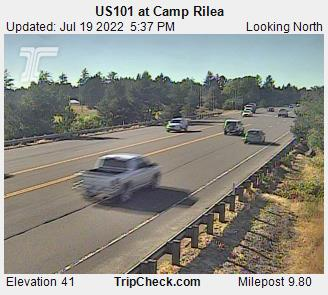 RoadCam - US101 at Camp Rilea