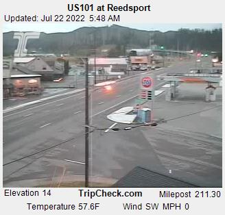 RoadCam - US101 at Reedsport