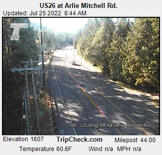 RoadCam - US26 at Arlie Mitchell Rd.