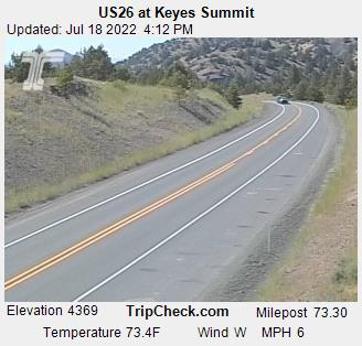 RoadCam - US26 at Keyes Summit