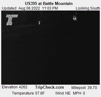 Us395 At Battle Mountain Oregon Road And Traffic Cam - Us-395-map