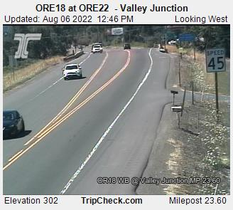 RoadCam - ORE18 at ORE22  - Valley Junction