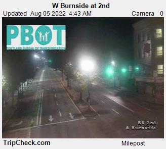 West Burnside at 2nd Ave