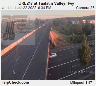 RoadCam - ORE217 at Tualatin Valley Hwy