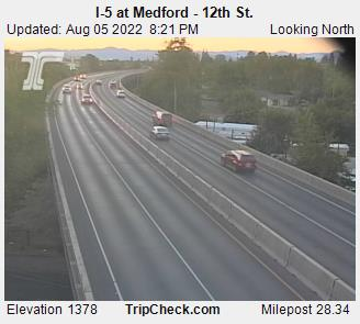 RoadCam - I-5 at Medford - Barnett Road