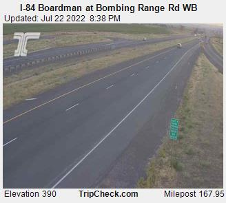 RoadCam - I-84 at Bombing Range Rd