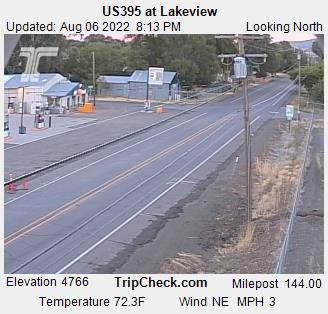 RoadCam - US395 at Lakeview