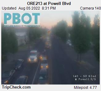 RoadCam - ORE213 at Powell Blvd (N)
