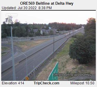 RoadCam - ORE569 WB at Delta Hwy