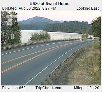 RoadCam - US20 at Sweet Home