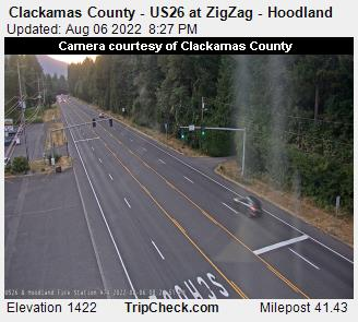RoadCam - US 26 at ZigZag/Hoodland