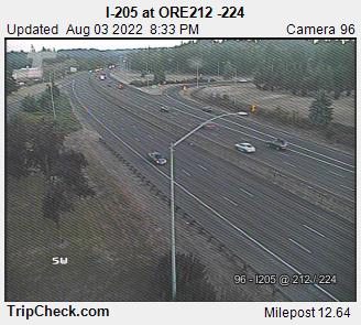 RoadCam - I-205 at ORE212 -224