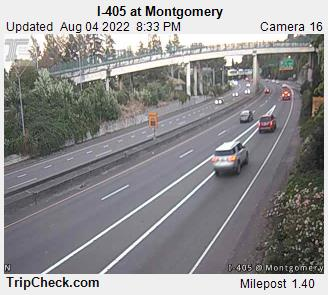 RoadCam - I-405 at Montgomery
