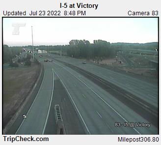 RoadCam - I-5 at Victory