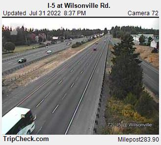 RoadCam - I-5 at Wilsonville Rd.