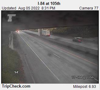 RoadCam - I-84 at 105th