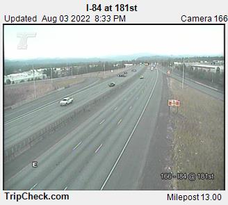 RoadCam - I-84 at 181st Ave