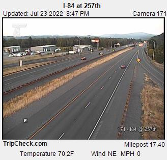 RoadCam - I-84 at 257th Ave