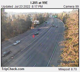 RoadCam - I-205 at 99E