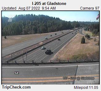 RoadCam - I-205 at Gladstone
