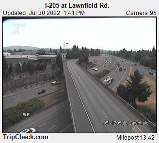 RoadCam - I-205 at Lawnfield Rd.