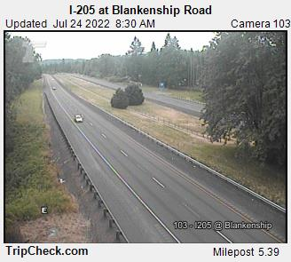 RoadCam - I-205 at Blankenship