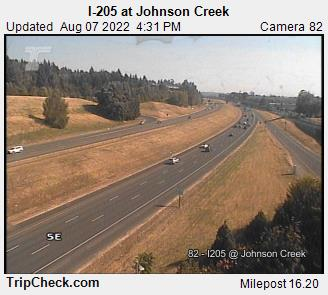 I-205 at Johnson Creek