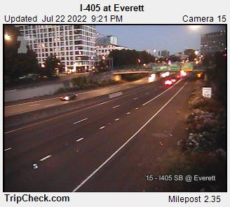 I-405 at NW Everett