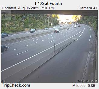RoadCam - I-405 at Fourth
