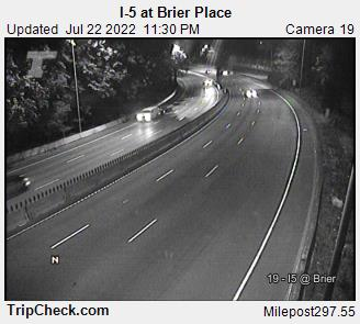I-5 at SW Brier Place