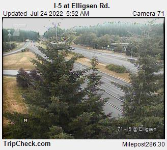 RoadCam - I-5 at Elligsen Rd.