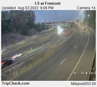 I-5 at N Fremont