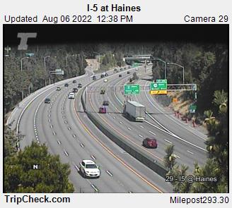 RoadCam - I-5 at Haines