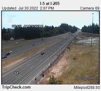 RoadCam - I-5 at I-205