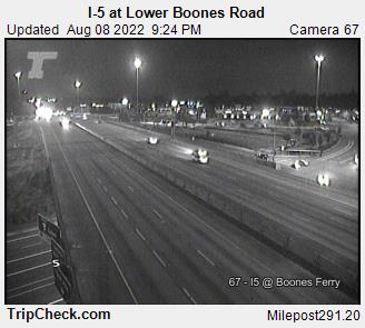 RoadCam - I-5 at Lower Boones Road