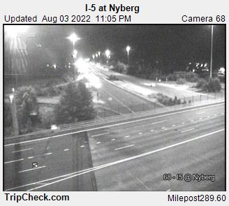RoadCam - I-5 at Nyberg