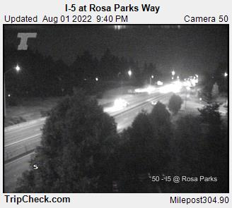 RoadCam - I-5 at Portland Blvd.