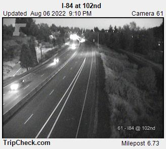 I-84 at NE 102nd Ave