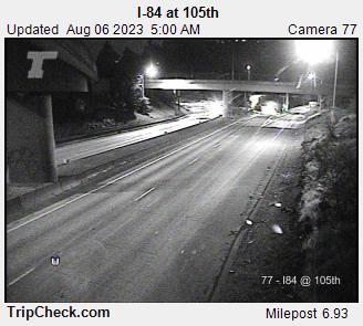 I-84 at NE 105th