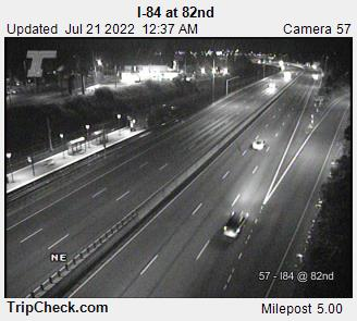 RoadCam - I-84 at 82nd