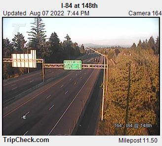 RoadCam - I-84 at 148th Ave