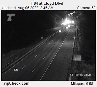 I-84 at Lloyd Blvd