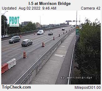 RoadCam - I-5 at Morrison Bridge